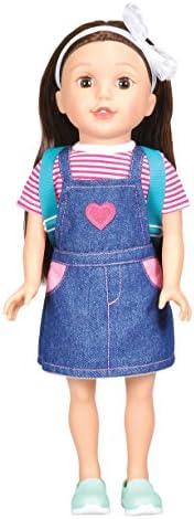 Bumbleberry Girls Paige Girl 娃娃,棕色*,38.1 厘米