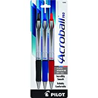 Pilot Acroball Pro Retractable Hybrid Gel Ball Point Pen, Medium Point