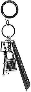维多利亚的秘密钥匙扣钥匙圈,带豪华钥匙扣和锁坠饰