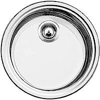 Blanco 铂浪高 Rondosol 水槽拉丝不锈钢表面