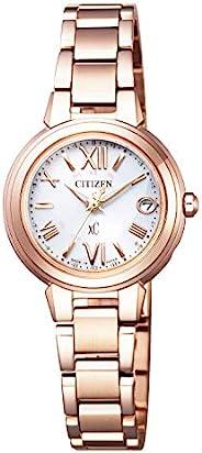 CITIZEN西铁城 腕表 Cross sea 光动能驱动 电波腕表 ES9435-51A 女士 粉金色