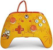 適用于 Xbox One 的增強有線控制器 - Cuphead 、游戲控制器、有線視頻游戲控制器、游戲控制器、Xbox One,可與 Xbox 系列 X|S 配合使用