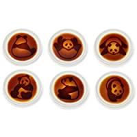 Alta可愛熊貓醬油碟  白色 H2.5×W10.0×D10.0