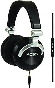 Koss ProDj200 Studio Headphone - Black/Silver