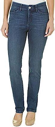 LEE 女式 Flex Motion Flex Motion Regular Fit Straight Leg Jean