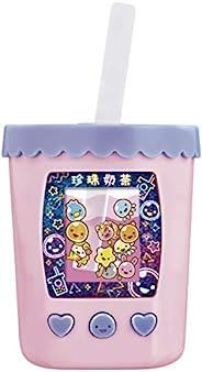 BANDAI 万代 游戏机 珍珠奶茶机 搅拌混合! Puni-Tapi酱 嫩弹珍珠酱 粉色奶茶
