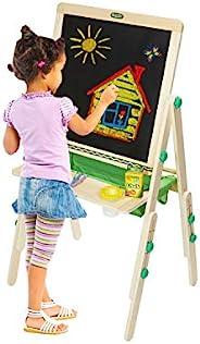 Crayola 豪華兒童木制畫架和用品,亞馬遜兒童適用,年齡 3,4,5,6