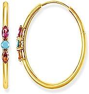 THOMAS Sabo 女式银环耳环 CR633-973 – 7