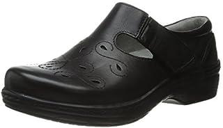 Klogs Footwear 女式 Brisbane 皮革 Mary-Jane Resturant 鞋 光滑黑 9