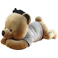 百维 托比熊棒球队系列汽车趴姿纸巾熊 PW0602