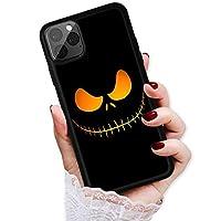 适用于 iPhone 12 Mini,耐用保护软背手机壳手机壳,HOT12029 万圣节恐怖脸 12029
