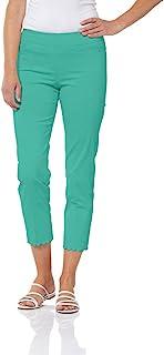 SLIM-SATION 女式纯色七分裤