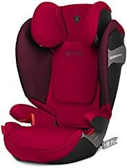 cybex Solution S-Fix 汽车座椅,Group 2/3,秋金 赛车红