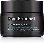 *男士眼霜   适用于皱纹、细纹、黑眼圈、浮肿、袋子   富含透明质酸、角鲨烷、咖啡因等  不含香料,1.7 盎司罐   美国制造