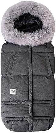 7AM Enfant 婴儿推车,汽车座椅脚套 - 毛毯 212 进化罩,适用于汽车座椅和婴儿车,可调节的寒冷天气,防水,婴儿和婴儿的温暖睡袋,随孩子成长 (6 个月 - 4 岁)