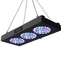NICREW 150W 水族箱 LED 礁灯,可调光 全光谱海洋 LED 适用于海水珊瑚鱼缸