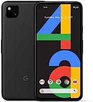 Google 谷歌 Pixel 4a - 全新解鎖 Android 智能手機 - 128 GB 存儲 - 長達 24 小時電池 - 僅黑色
