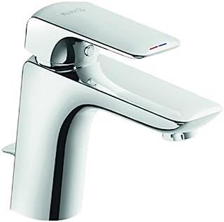 Kludi Ameo 冷热水混合水龙头/洗脸盆单柄龙头 XL DN 15   配有热水限制功能的陶瓷阀芯,闭合把手   流量: 3巴状态下,6升/分钟。