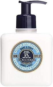 L'Occitane 欧舒丹 5%温和乳木果油润手乳液,10.1盎司(约286.
