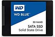"Western Digital Blue 3D NAND 500GB 内置固态硬盘 - SATA III 6 Gb/s, 2.5""/7mm, 可达560 MB/s - WDS500"