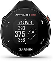 GARMIN 佳明 Approach G12 夹式高尔夫 GPS 测距仪,42k+ 预加载课程,010-02555-00