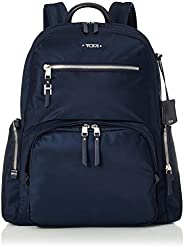 TUMI 途明 - Voyageur Carson 笔记本电脑背包 - 15 英寸女式电脑包 - 靛蓝色