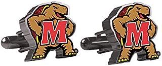 AdSpec NCAA 马里兰大学赤土队男士袖扣