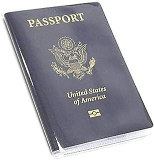 透明护照套盒 证件卡旅行保护罩(透明 x5)