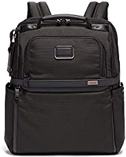 TUMI Alpha 3 Slim Solutions 笔记本电脑公文包-15英寸(约38.10厘米)男女通用电脑背包,黑色