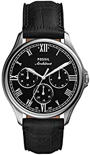 Fossil Men's Architect Series ARC-02 or ARC-03 Stainless Steel Casual Quartz W