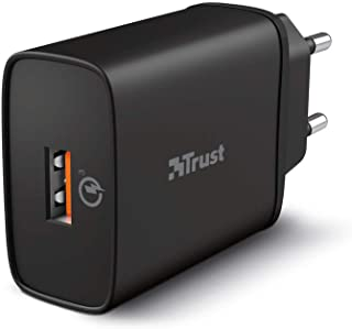 QMAX USB-A Wall Charger QC3 18 W 自动 黑色
