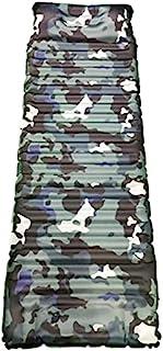 露营睡垫 - 厚 3.5 英寸(约 8.0 厘米),充气,耐用防水迷彩野营床垫,带枕头,适用于背包、露营、吊床、徒步旅行、帐篷、紧凑睡垫