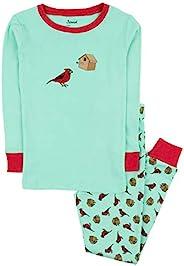 Leveret 儿童与学步儿童睡衣男孩女孩中性款两件套睡衣套装 * 纯棉睡衣(12 个月-14 岁)