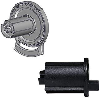RollEase R24-1 1/2 英寸外部卷帘离合器 (R24C53BEXT) 和端销 (REP53BK) 套装,黑色