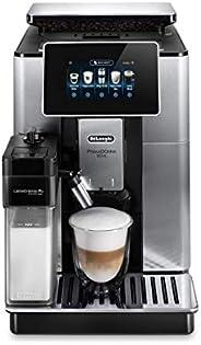 De'Longhi 德龙 Primadonna Soul 全自动豆到杯特浓卡布奇诺咖啡机,ECAM610.75.mb,黑色和银色