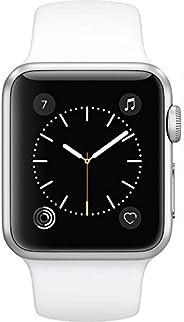 Apple Watch Series 3 (GPS,38MM) - 银色铝外壳带白色运动表带(翻新)