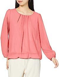 Priscare 衬衫 女士 雪纺衬衫 可水洗 长袖 295620L 粉色 L