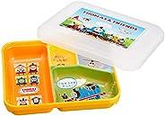远藤商事 清洁容器 幼儿园托马斯 黄色内/透明PP - 23pp(聚丙烯)日本制造 RTKB701