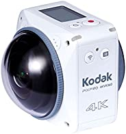Kodak PIXPRO VR 360 度 4K 數碼相機 - 白色 Orbit360