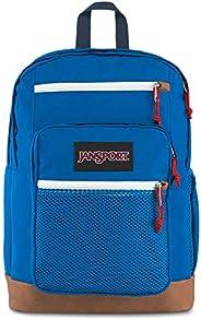 JanSport Huntington 背包 - 輕質筆記本電腦包 紅色/白色/藍色 One_Size