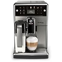 Saeco PicoBaristo Deluxe 全自动咖啡机 SM5573/10,12种咖啡制备(集成牛奶系统,LED显示屏),不锈钢