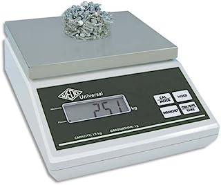 Wedo 507012 通用电子秤和计数秤(12 千克/1 克,带欧盟电源)灰色