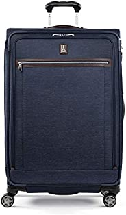 Travelpro Platinum Elite-Softside 可扩展万向轮行李箱 正*蓝 Checked-Large 29-Inch