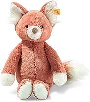 Steiff Fritzy 狐狸,原创毛绒动物玩具,30厘米,森林动物毛绒狐狸,儿童毛绒玩具,柔软可爱的朋友,玩耍和学习,活动和可洗,毛绒玩具生锈(069192)