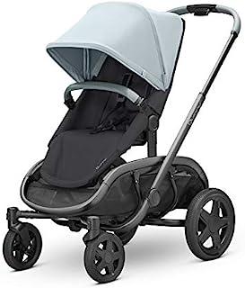 Quinny 酷尼 VNC 轻便高景观婴儿推车,双向可坐可躺,轻便可折叠,四轮独立悬挂避震系统,超大置物篮,适合0-4岁,冰雪灰