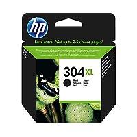 HP 惠普 304XL 黑色原裝打印機墨盒 適用于HP Deskjet打印機