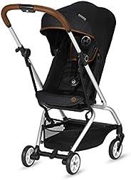 Cybex 2018 Eezy S Twist 婴儿车,牛仔系列,带缓冲杆,Lavastone 黑色