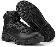 RYNO GEAR 男式黑色战术战靴 CoolMax 衬里 黑色//白色 8