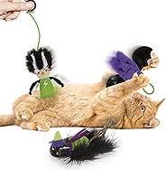 Petlinks 万圣节猫薄荷玩具套装/4 只猫玩具