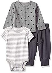 Amazon Essentials Baby 3 件套开衫套装